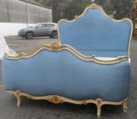 Ornate Painted Five Foot Double Bed